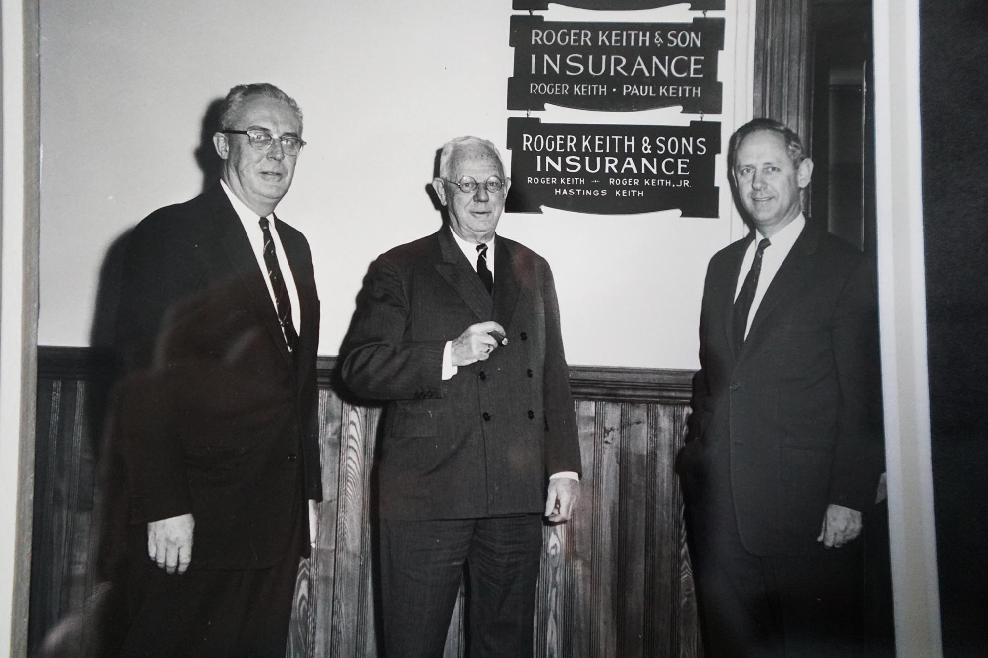 Roger Keith & Sons Insurance | Founders